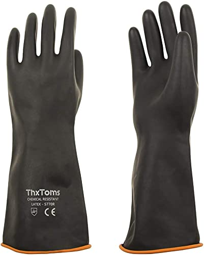 ThxToms Heavy Duty Latex Gloves