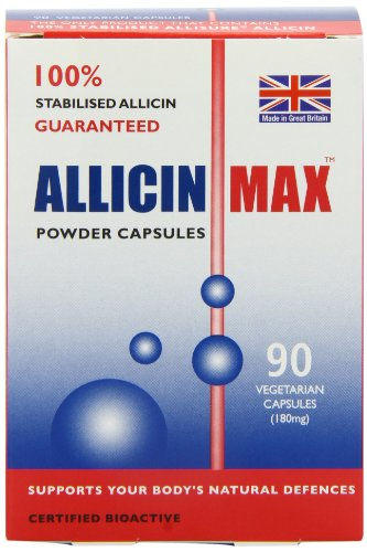 Allicinmax SGK 100% Pure Capsules - Pack of 90