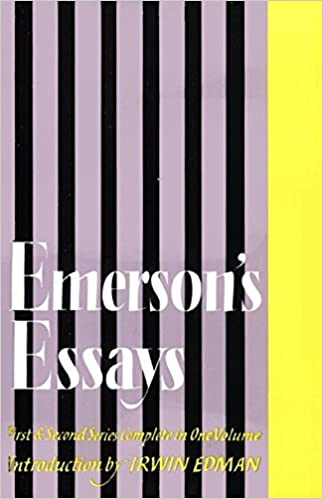 overview of emersons essays on politics