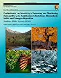 Evaluation of the Sensitivity of Inventory and Monitoring National Parks to Acidification Effects from Atmospheric Sulfur and Nitrogen Deposition Southeast Alaska Network Natural Resource Report NPS/NRPC/ARD/NRR - 2011/373, T. J. Sullivan and T. C. McDonnell, 1492897728