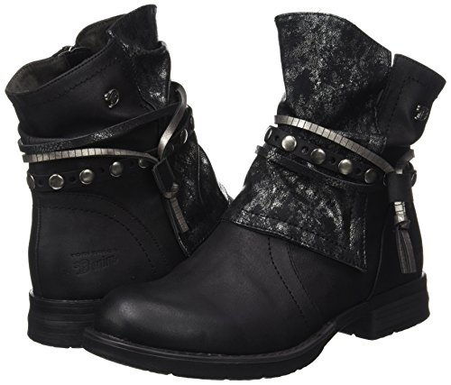 Biker Black Boots 3795612 Tom Tailor Women's black qxw0a7P7tf