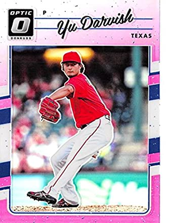2017 Panini Donruss Optic Pink #161 Nolan Ryan Texas Rangers Baseball Card