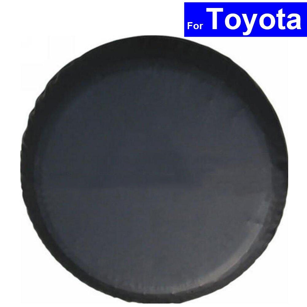 szss-carcar rueda de repuesto neumá tico funda Auto neumá tico pantalla bolsas de almacenamiento para Toyota Prado COROLLA Yaris RAV4 Camry Land Cruiser con logotipo Shenzhen letian