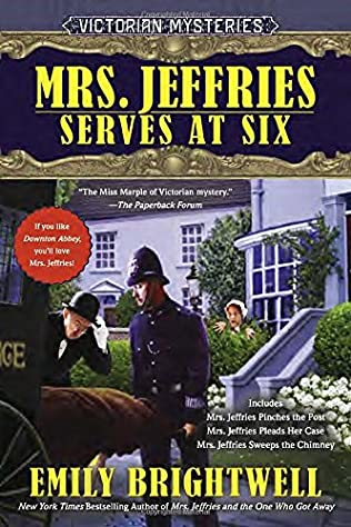 book cover of Mrs. Jeffries Serves at Six