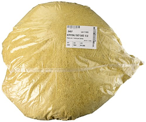 - NOW Nutritional Yeast Flakes,10-Pound