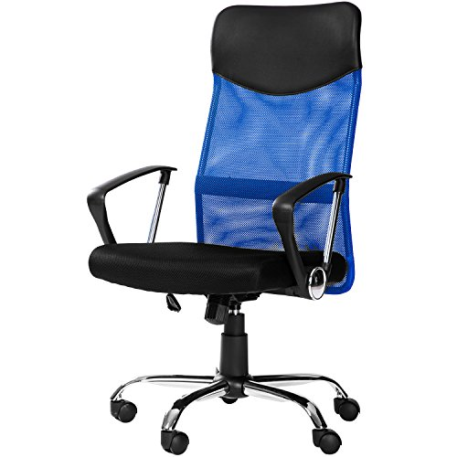 Merax Mesh Adjustable Chair, Blue