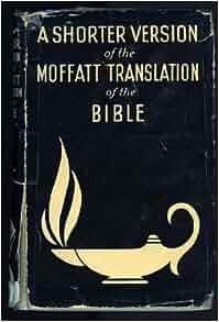 moffatt translation of the bible pdf