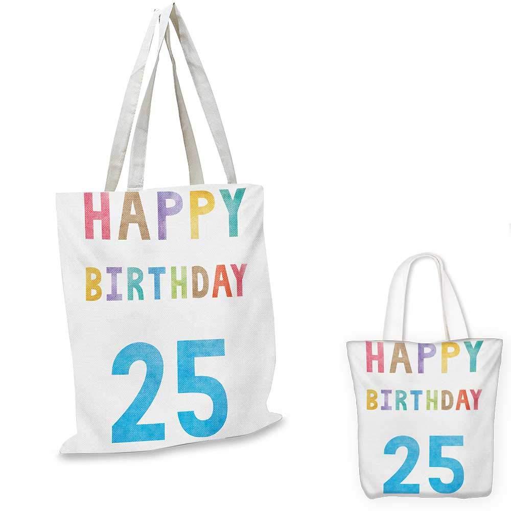 25歳の誕生日 鮮やかなパーティーバルーン 赤とカラフルなリボン付き ハッピーネスレッド ブルー グリーン 15