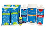 Spring Swimming Pool Start-Up Opening Chemical Kit For Pools Up To 30,000 Gallon