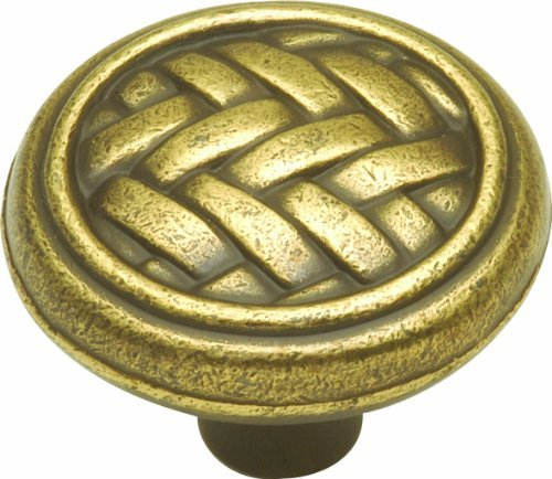 Hickory Hardware P7513-WA 1-1/4-Inch Catamaran Cabinet Knob, Windsor Antique by Hickory (Wa Catamaran)
