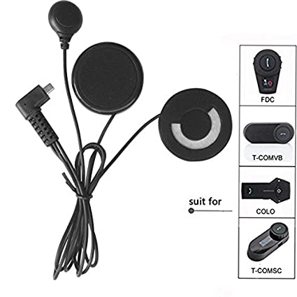 Microphone Speaker Soft Cable Headset Headphone Accessory for Motorcycle Helmet