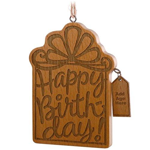 (Hallmark Keepsake Ornament 2016 Happy Birthday ! Milestone Birthday)