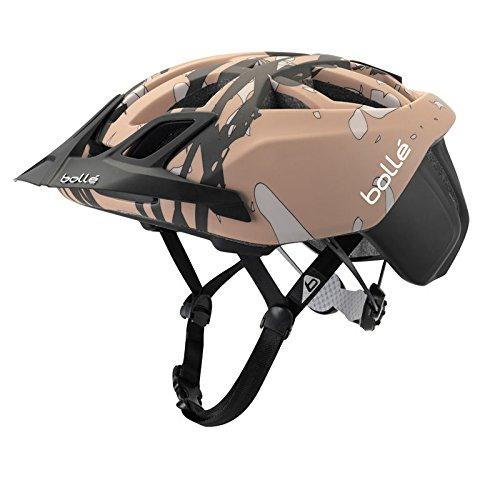 Cheap Bolle The One MTB Helmet, 58-62cm, Black/Brown Camo
