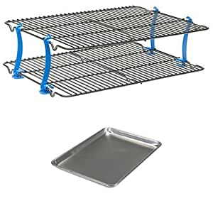 Nordic Ware Cooling Rack and Bakers Half Sheet