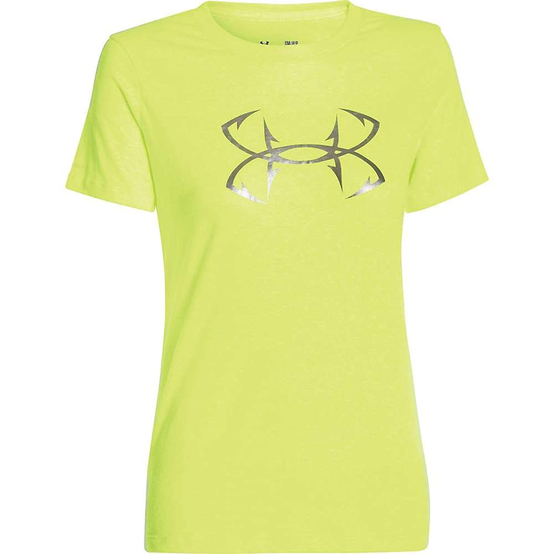 Under Armour Women's UA Charged Cotton Tri-Blend Hook T-Shirt