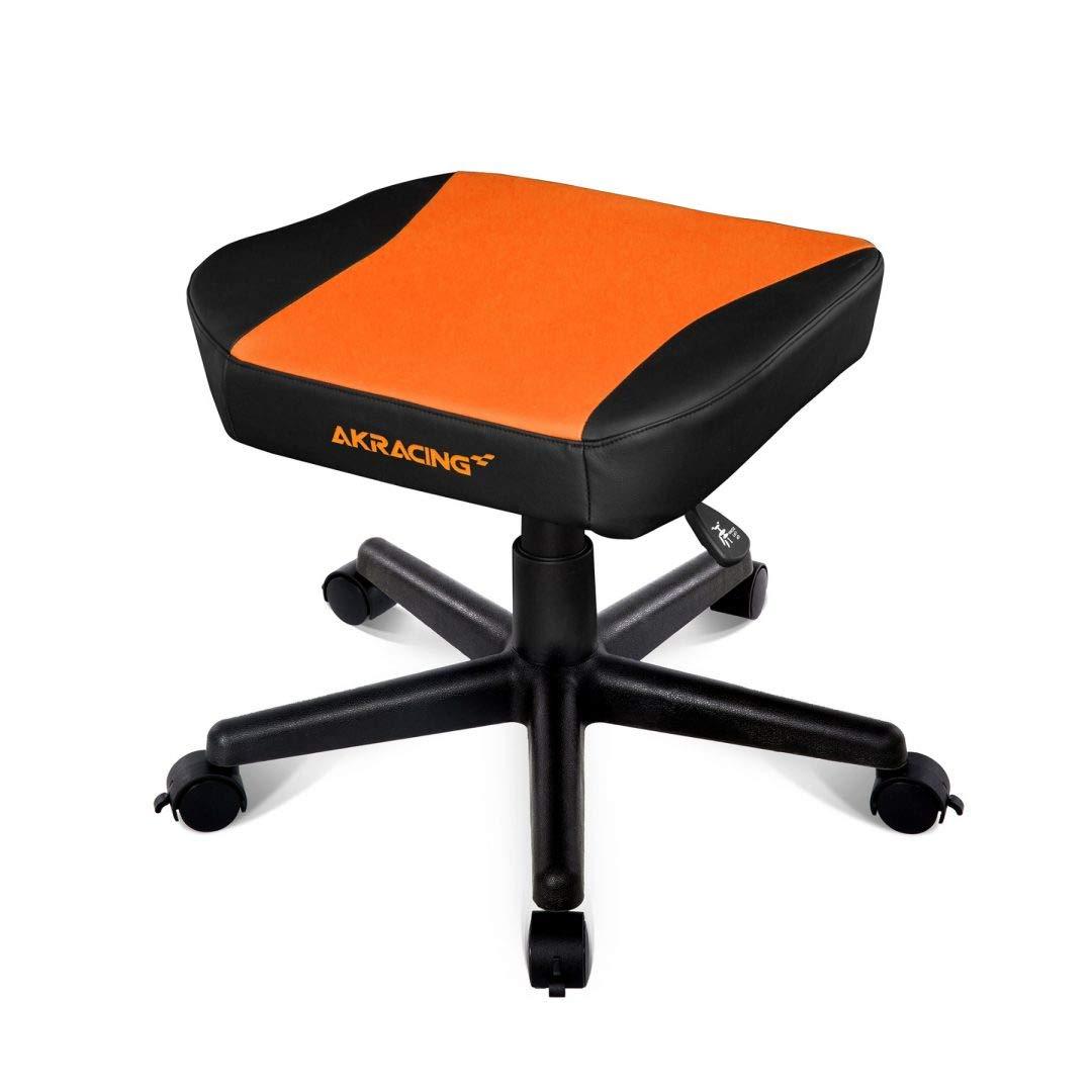 AKRACING ak-Footstool-or Leder Leder Leder schwarz, orange Hocker 620 mm, 600 mm, 180 mm, 9,12 kg, 10,1 kg f904dc