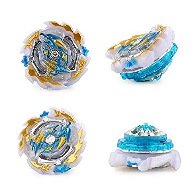 NT-158-9-Bey Burst Evolution Starter Battling Top Fusion Metal Master Rapidity Fight with 4D Launcher Grip Set(2 in 1): Toys & Games