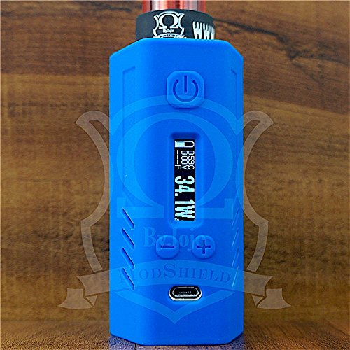 ModShield for Lost Vape Triade DNA200 & DNA250 Silicone Case 200W & 250W TC Sleeve Skin DNA Shield ByJojo (Blue)
