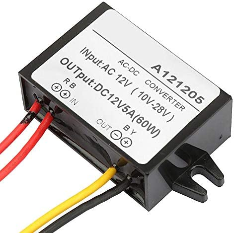 Fincos 28v 2.5a Switching Power Supply 28v 2.5a ac dc Adapter 28v dc Voltage Regulator ac dc Adapter Color: Black