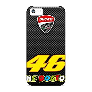 Defender mobile phone case Protective Beautiful Piece Of Nature Cases covers iphone 5 / 5s - valentino rossi