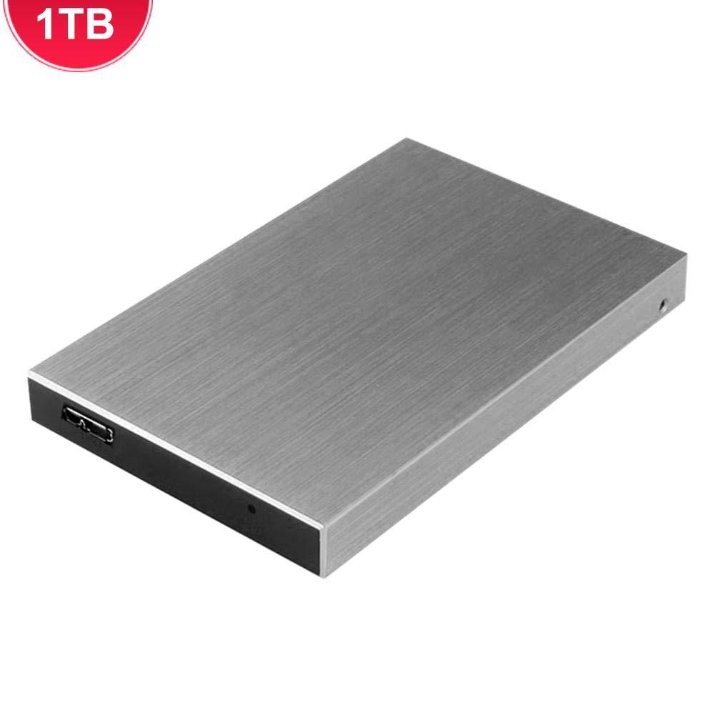 2TB HDD Port/átil Disco Duro Mec/ánico De Alta Velocidad 1TB Loveinwinter Disco Duro Externo M/óvil USB3.0 500GB