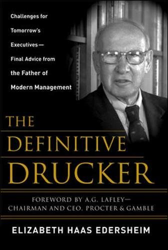 The Definitive Drucker: Challenges For Tomorrow's...