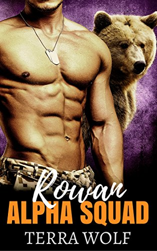 Lady Wolf (Rowan: A Military Shifter Secret Baby Romance (Alpha Squad Book 2))