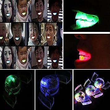 Flashing Mouth Guard LED Light up Mouth Braces Piece Jeeke Halloween Party Flashing Teeth
