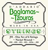 D\'Addario J91 Nickel Wound Baglamas-Tzouras Strings