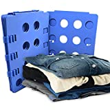 Image of BoxLegend Plastic Adjustable Clothes Folding Board, 23 x 27.5-Inch, Blue