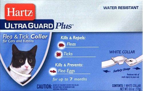 Hartz UltraGuard Plus Water Resistant 7 Month Protection Breakaway Flea & Tick Collar for Cats