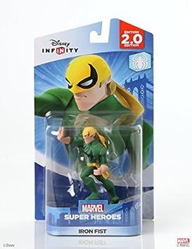 Disney INFINITY: Marvel Super Heroes (2.0 Edición) Figura Iron Fist Edition: Puño De Hierro, Modelo: 1205590000000, Juguetes Y Juegos