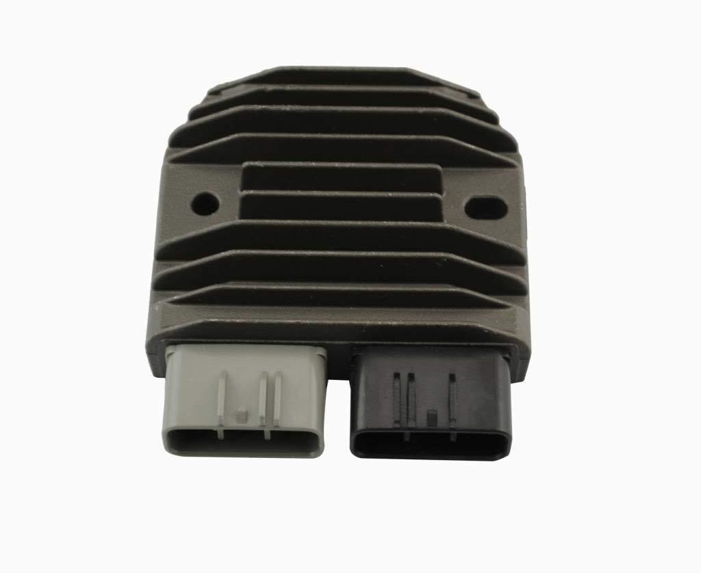 Black Voltage Regulator Rectifier FH012AA For Yamaha YZF XV YFM 1D7-81960-00-00