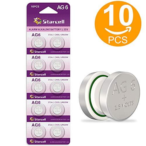 🥇 Starcell SR920SW 371 LR920 AG6 370 – Pilas de botón
