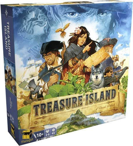 Matagot TRI01 Treasure Island, Multicolor]()