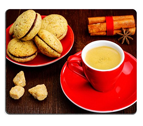 msd-customized-natural-rubber-mouse-pad-personalized-custom-picture-cup-of-espresso-and-cookies-2441