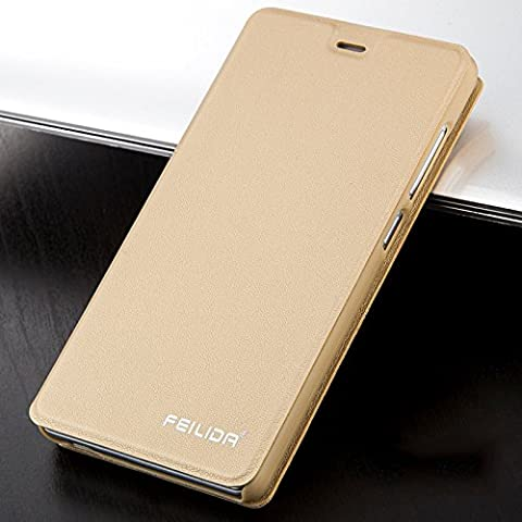 For Redmi Note3 Cover Leather Flip Case Matte Leather Case Cover For Hongmi Note3 Anti-knock Cover 5.5 inch(Not For Xiaomi Redmi Note 3 International - Imation Is A Carrying Case