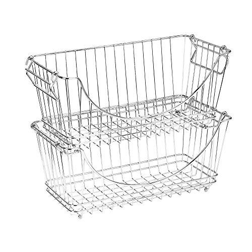wire basket kitchen storage - 4