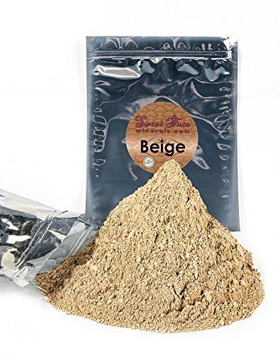 BULK REFILL FOUNDATION BEIGE Mineral Makeup Powder Matte Bare Skin Sheer SPF 15 Cover 8 Ounces