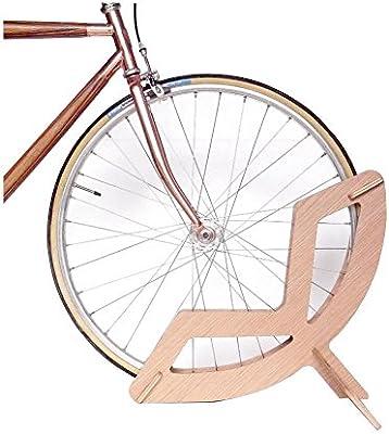 Colect QO - Soporte de Madera para Ruedas de Bicicleta, Soporte de ...