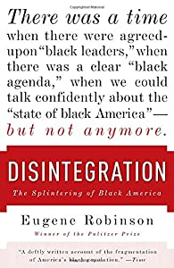 Disintegration: The Splintering of Black America by Anchor