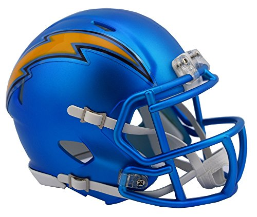NFL Los Angeles Chargers Riddell Alternate Blaze Speed Full Size Replica Helmet by Riddell