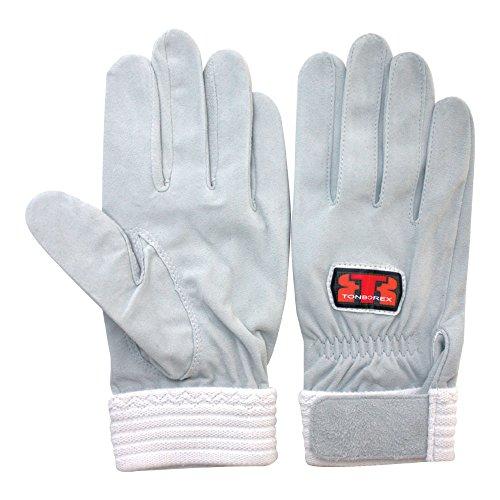 物思いにふける妖精ネクタイTONBOREX(トンボレックス) レスキューグローブ 羊革手袋 R-MAX1G シルバーホワイト