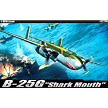 """Academy B-25G """"Shark Mouth"""" Airplane Model Building Kit"""