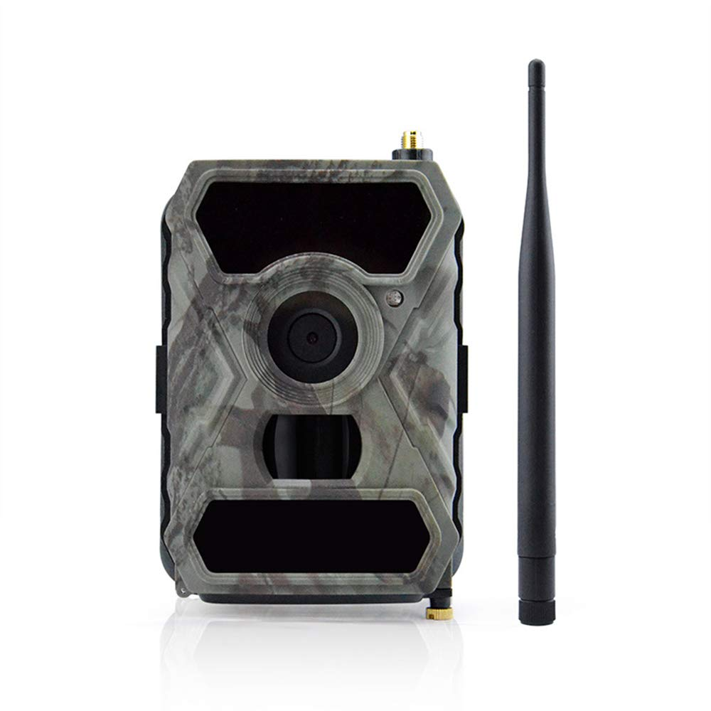 Outdoor Hunting Camera, 3G, Support Mobile APP, 12MP HD Video, 56 Infrared LED Enhancement Technology, 0. 4S Trigger Speed, Easy Setup