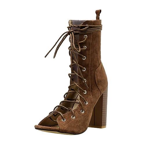 pour à Bottes à Hauts Talons Mode Chaussures Femmes BASACA reBdCoWx