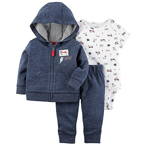 Carter's Baby Boys' 3 Piece Little Jacket Set 6 - Prime Coupons Outlets
