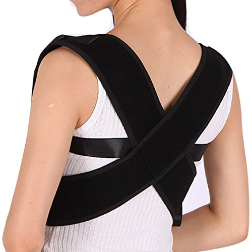 MEDIZED Posture Corrector Clavicle Support Brace, Medical Device to Improve Bad Posture, Thoracic Kyphosis, Shoulder Alignment, Upper Back Pain Relief for Men and Women (Style 1) by MEDIZED (Image #7)
