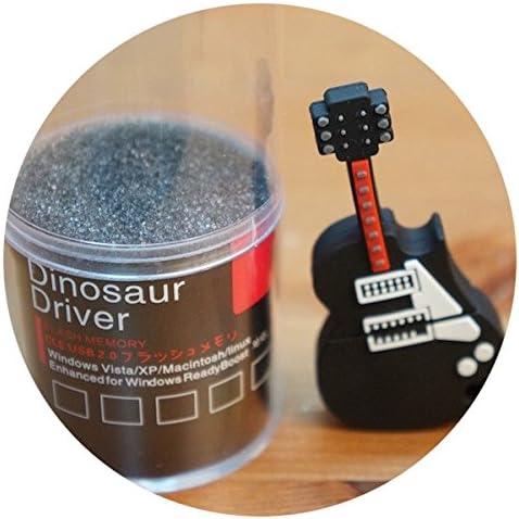 Memoria Usb 8 Gb Dinosaur Driver Guitarra Negra Roja Pendrive Usb 2.0 Flash Pen Drive: Amazon.es: Electrónica
