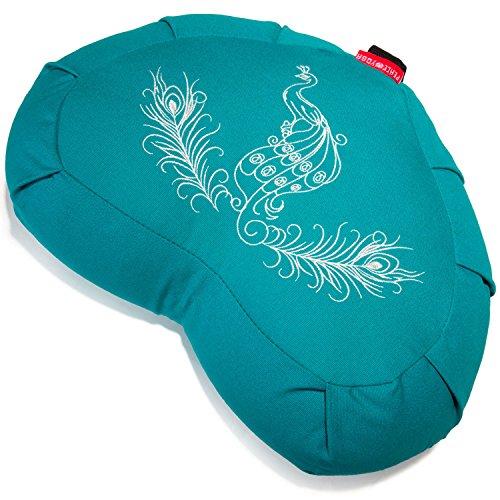 (Yoga Meditation Buckwheat Bolster Pillow Cushion)